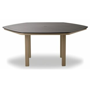Marine Grade Polymer Hexagonal Bar Table by Telescope Casual Fresh