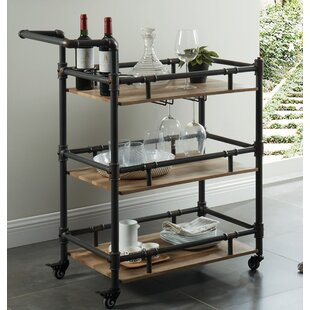 Thelonius Bar Cart by 17 Stories