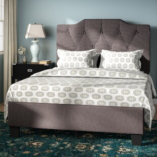Mckeel Queen Upholstered Panel Bed by Three Posts