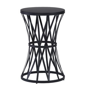 Lelia Round End Table by Ivy Bronx
