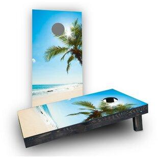 Custom Cornhole Boards Palms Cornhole Boards (Set of 2)