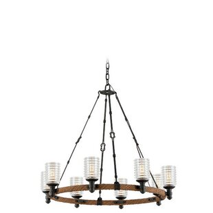 17 Stories Karsten 8-Light Shaded Chandelier