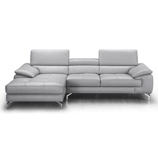 Find the perfect Armiead Leather Sectional by Orren Ellis Reviews (2019) & Buyer's Guide