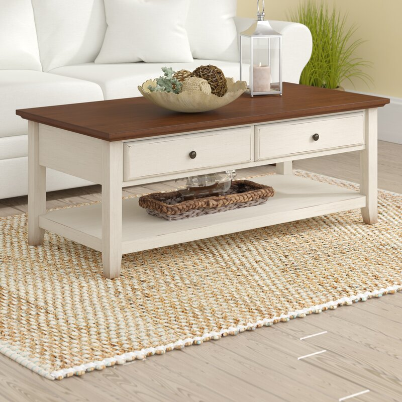 Beachcrest Home Willow Coffee Table Reviews