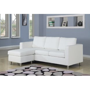 Price Check Deimel Reversible Sectional with Ottoman by Orren Ellis Reviews (2019) & Buyer's Guide