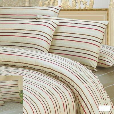 Striped Duvet Cover Set DaDa Bedding Size: Twin
