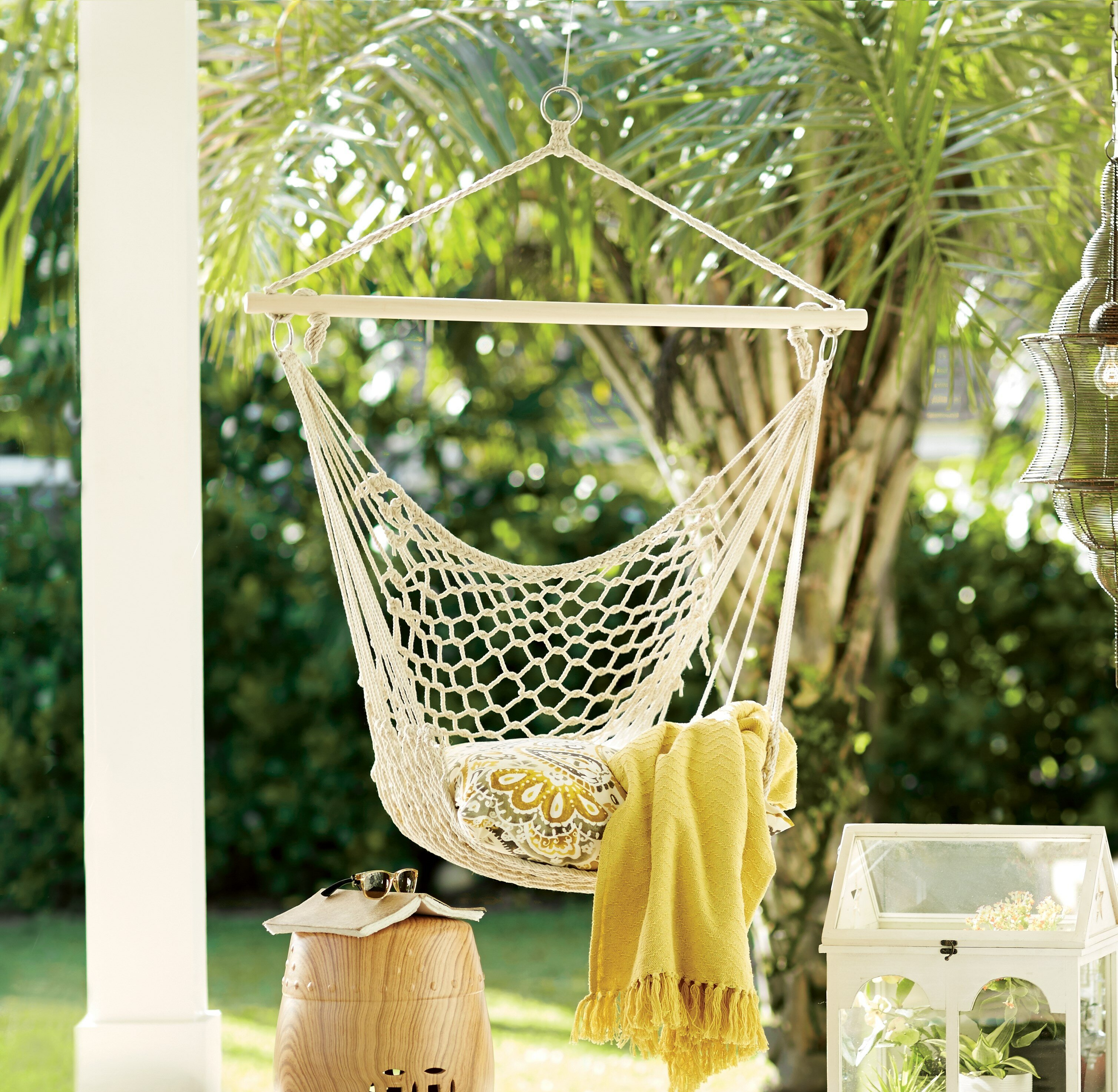 air nylon outsunny chair swing sky hammock woven hanging portable patio outdoor living