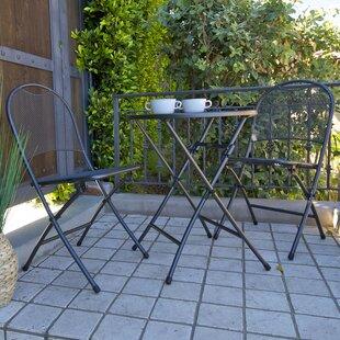 Claremonte 3 Piece Bistro Set by Royal Garden