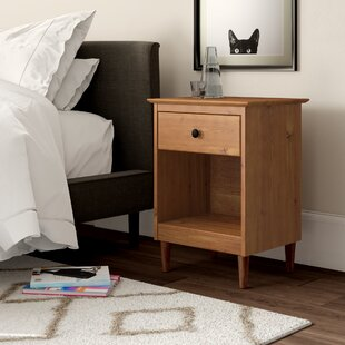Best Reviews Lafave 1 Drawer Nightstand by Mercury Row