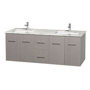 Compare & Buy Centra 60 Double Bathroom Vanity Set By Wyndham Collection
