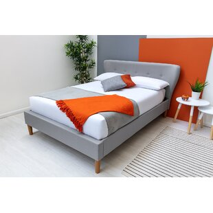 Kailee Upholstered Bed Frame With Mattress By Isabelline