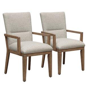 Marshburn Upholstered Dining Chair (Set o..