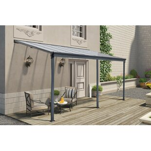 Mcelligott Lean To Aluminium Carport W 5 X D 3m Patio Awning By Sol 72 Outdoor