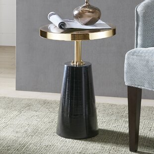 Check Prices Darlene End Table by Orren Ellis