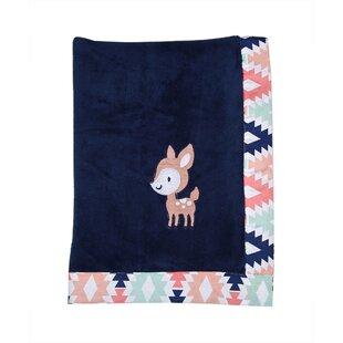 Affordable Tyann Bambi Plush Blanket ByHarriet Bee