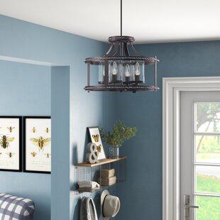 Low priced Halcott 4-Light Pendant By Laurel Foundry Modern Farmhouse