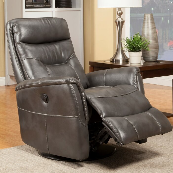 Groovy Chilson Power Glider Swivel Recliner Inzonedesignstudio Interior Chair Design Inzonedesignstudiocom