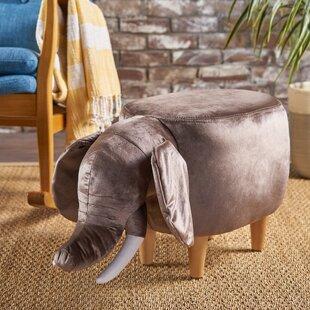 Espenson Elephant Ottoman by Zoomie Kids
