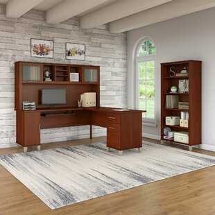 Red Barrel Studio Lumley 3 Piece L-shaped Desk Office Suite