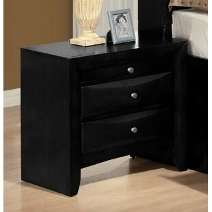 Mulcahey 2 Drawer Nightstand