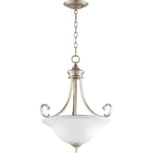 Winston Porter Cambron Transitional 3-Light Bowl Pendant