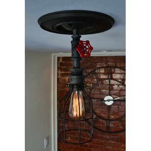 1-Light Foyer Pendant by West Ninth Vintage