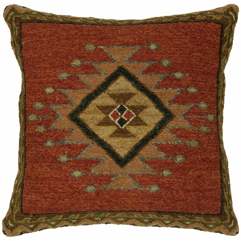 Iyer Wool Throw Pillow