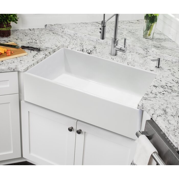 Fireclay 30 L X 18 W Farmhouse A Kitchen Sink