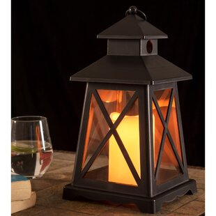 Comparison LED Light Battery Operated Plastic Lantern By Breakwater Bay