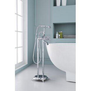 Ariel Bath Triple Handle Floor Mounted Fr..