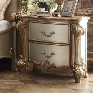 Welles 2 Drawer Nightstand by Astoria Grand