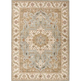 Shop For Trinningham Blue And Ivory Rug By Charlton Home