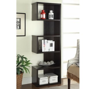 Wrought Studio Cyrene Semi Backless Wooden Corner Unit Bookcase