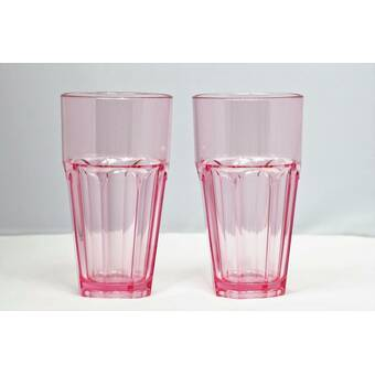 Red Barrel Studio Cecille 23 Oz Acrylic Drinking Glass Reviews Wayfair