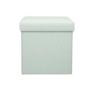 Greenland Quilted Storage Ottoman by Ebern Designs
