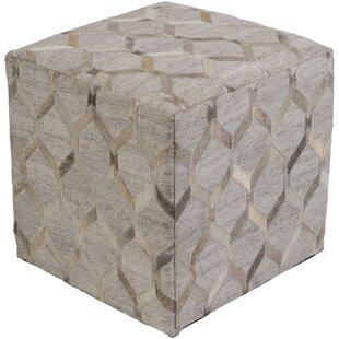 Brayden Studio Shore Front Cube Ottoman