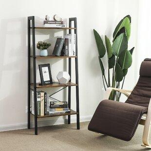 Parikh 4-Tier Ladder Bookcase By Williston Forge