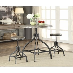 Mckibben 3 Piece Counter Height Breakfast Nook Dining Set by Williston Forge Today Only Sale