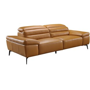 Orren Ellis Kean Leather Sofa