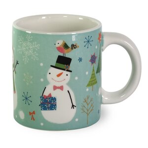Sweaterific Snowmen Coffee Mug (Set of 2)
