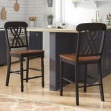 Counter Height Chair (Set of 2) by Alcott Hill®