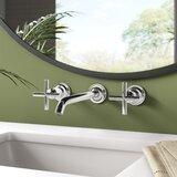 Purist Widespread Wall-Mount Bathroom Faucet