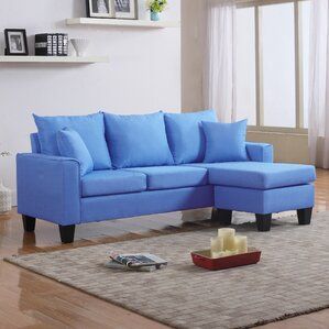 janna reversible sectional : royal blue sectional - Sectionals, Sofas & Couches