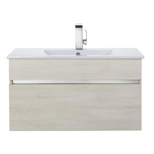 Cutler Kitchen & Bath Ivory Floating 36
