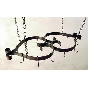 French Scroll Hanging Pot Rack