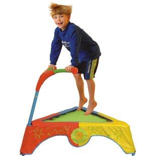 Diggin Active JumpSmart Trampoline 3.91' Triangle