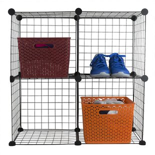 Inexpensive Wired Shoe Rack By Home Basics