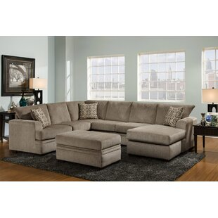 Louis Reversible Sectional  by Chelsea Home