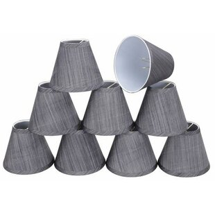 6 Fabric Empire Candelabra Shade (Set of 9)