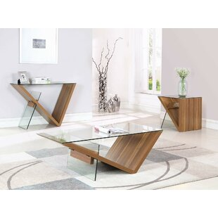 Orren Ellis Weatherwax 3 Piece Coffee Table Set